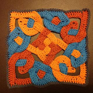 Ravelry: Celtic Knot motif pattern by Suvi