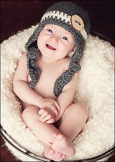 beca7c38df3 Ravelry  Kaden Ear Flap Hat pattern by Bonnie Potter