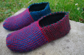 Ravelry Afu09 Tunisian Crochet Room Shoes B Pattern By Clover Japan