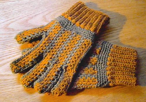 Ravelry Mens Sideways Gloves Pattern By Rose Powell