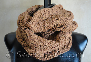 Ravelry 125 Luxe Infinity Scarf Pattern By Sweaterbabe
