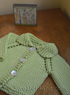 6e4fad014 Ravelry   15 Chunky Cotton Baby Cardigan pattern by SweaterBabe