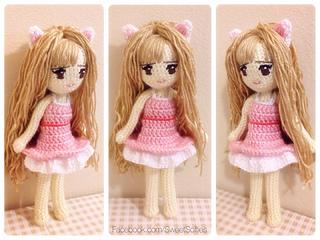 Amigurumi Doll Anime : Hayao miyazaki ponyo doll ghibli baby ponyo studio ghibli