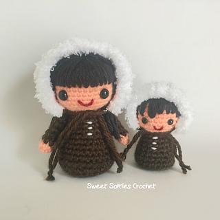 http://www.sweetsofties.com/2017/02/eskimo-kokeshi-mama-baby-doll.html