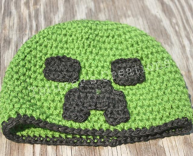 Ravelry Minecraft Creeper Hat Pattern By Rachelle Bowman
