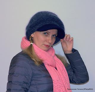 Warm cap pattern by Tanya Rzhaksinskaya