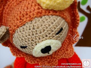 Amigurumi Leon : Ravelry amigurumi leoncito león lyon pattern by tarturumies