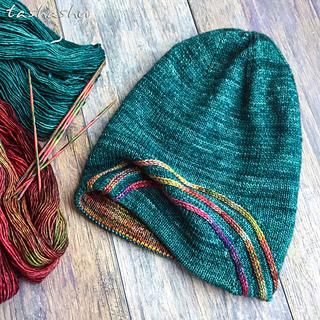 Ravelry Aurora Borealis Hat Pattern By Svetlana Gordon