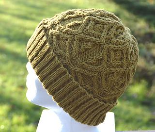 5189673f75c Ravelry  Matilda Cabled Beanie Hat pattern by Suzie Sparkles