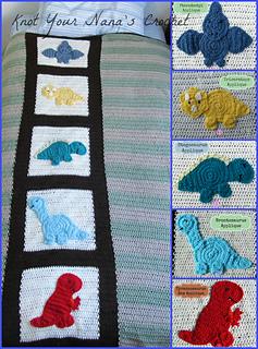 Ravelry Stegosaurus Applique Pattern By Teri Heathcote