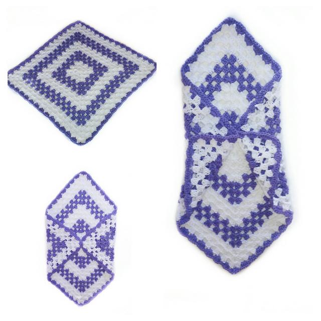 Ravelry: baby blanket pattern by ternura amigurumi