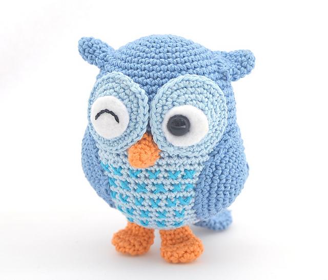 Jip the owl pattern by Tessa van Riet-Ernst