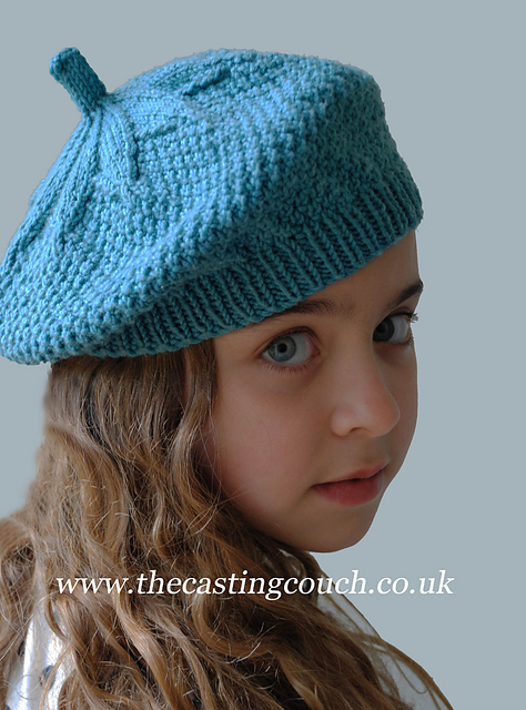 Ravelry Seed Stitch Beret Pattern By The Casting On Couch