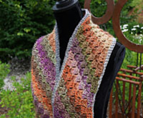 Ravelry Corner To Corner Scarf Pattern By Michael Sellick