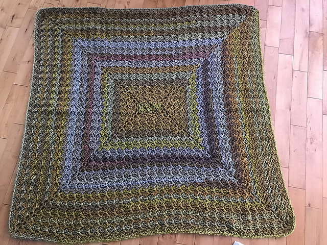 Ravelry Rectangle Blanket C2cx4 Pattern By Michael Sellick