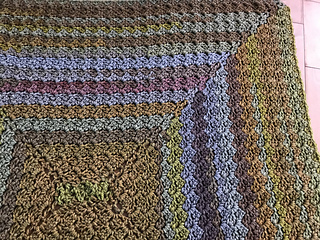 Ravelry Rectangle Blanket C2cx4 Pattern By Michael Sellick