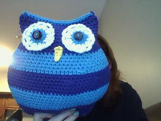 Owl pillows | crochet owl pillow http lomets.