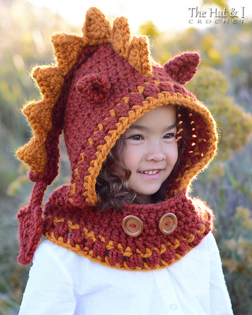 Ravelry Lucky Dragon Hood Cowl Pattern By Marken Of The Hat I