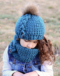 f1112772901 Ravelry  Big Braid Beanie   Cowl pattern by Marken of The Hat   I