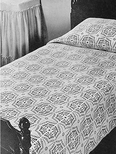 Ravelry Compass Bedspread Pattern By Old Time Crochet Magazine