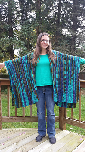 Ravelry Boho Cozy Wrapruana Pattern By Tera Rowe