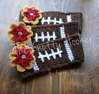 Ravelry  Football Headband pattern by The Knotty Hooker 8cced1f53ad