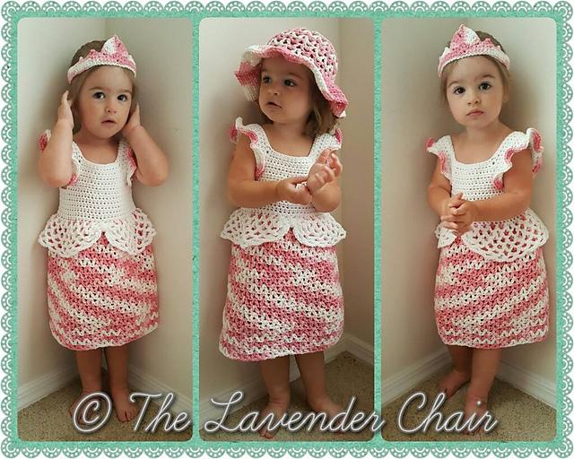d2352d78a Ravelry  Valerie s Princess Dress pattern by Dorianna Rivelli