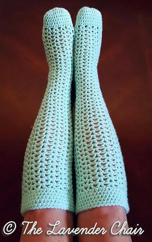 Ravelry Valeries Knee High Socks Pattern By Dorianna Rivelli