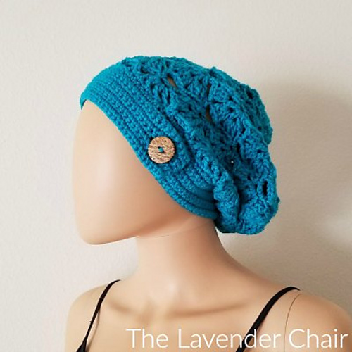 Ravelry Falling Fans Slouchy Beanie Pattern By Dorianna Rivelli