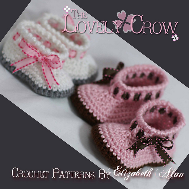 Ravelry My Angel Baby Booties Pattern By Elizabeth Alan