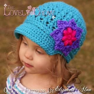 patterns   The Lovely Crow on Etsy.   Little Sport Newsboy Hat 86c654c1832