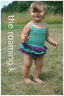 6d3b533b47e3 Ravelry  Sun Suit Romper pattern by CrochetDreamz
