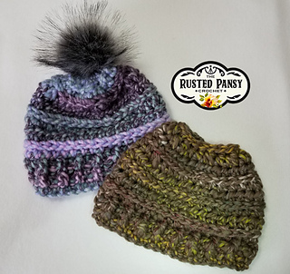 2c1925795a1 patterns   The Rusted Pansy Ravelry Store.   The Wildwood Beanie