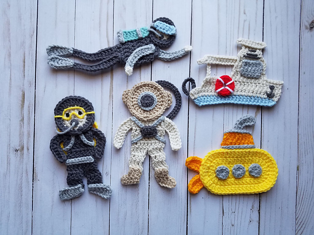 Ravelry nautical voyage pattern by the yarn conspiracy