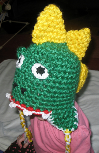 Ravelry Dinosaur Hat Pattern By Heather Hosford