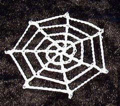 ravelry crochet spider s web pattern by thomasina cummings designs