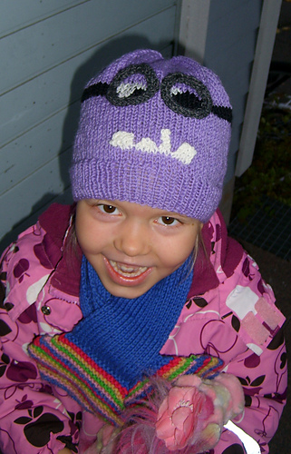 Ravelry Despicable Me Evil Minion Hat Pattern By The Knit Guru