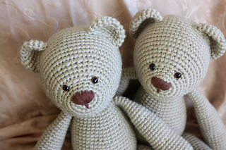 Amigurumi Free Patterns Bear : Ravelry: lucas the teddy pattern by happyamigurumi