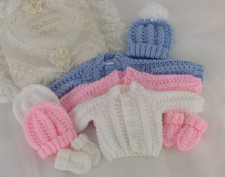 4dd534131861 Ravelry: 54 Babies Cosy Cardigan Set pattern by Jacqueline Harrison
