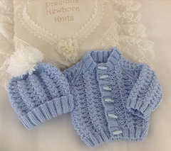 9d3f2708e Ravelry  54 Babies Cosy Cardigan Set - Size 3-6 Months pattern by  Jacqueline Harrison