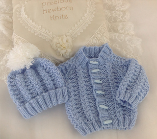 c0a61fc467dc Ravelry: 54 Babies Cosy Cardigan Set - Size 3-6 Months pattern by ...