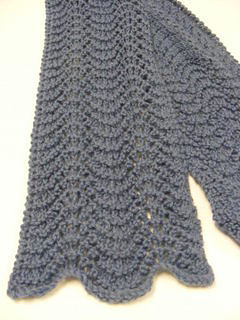 Ravelry babys feather fan scarf pattern by denise jackson holder dt1010fo
