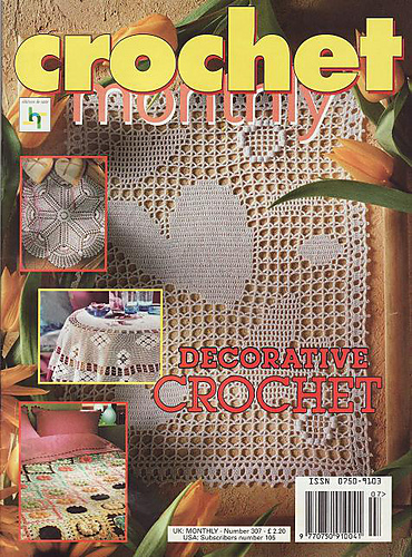 Ravelry Crochet Monthly Uk 307us 105 Patterns