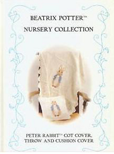 Ravelry Beatrix Potter Nursery Collection Peter Rabbit Cot Cover