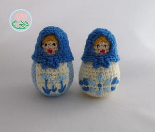 Ravelry Amigurumi Matryoshka Russian Nesting Doll Pattern By Tamara Lazaridou