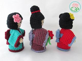 Free Amigurumi Kokeshi Doll Patterns : Ravelry amigurumi kokeshi doll pattern by tamara lazaridou
