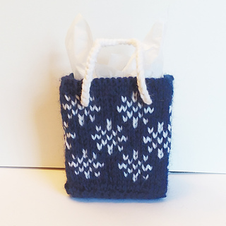Ravelry: Holiday Mini Gift Bags pattern by Sherrie Kibler