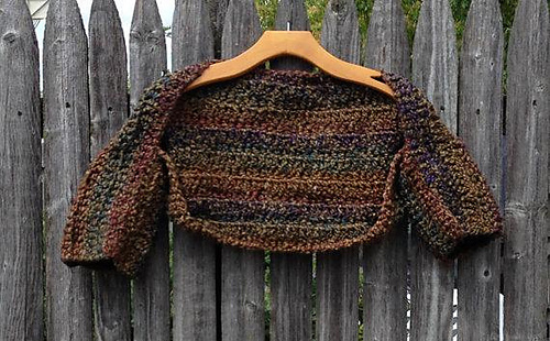 Ravelry Outlander Crochet Shrug Pattern By Coral G
