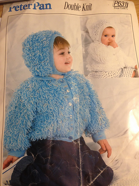 Ravelry Childs Loopy Jacket Pattern By Peter Pan