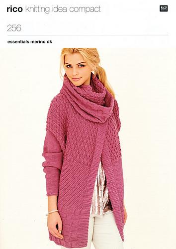 Ravelry Rico Knitting Idea Compact 256 Patterns